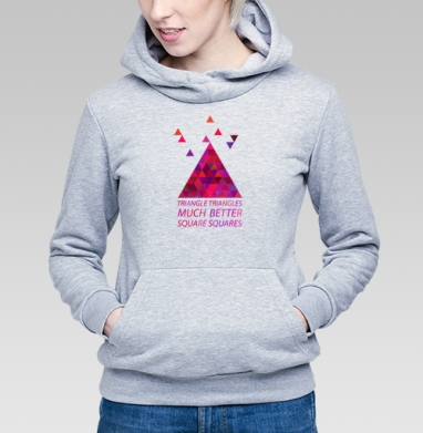 Треугольные треугольнички - Купить детские толстовки ретро в Москве, цена детских толстовок ретро  с прикольными принтами - магазин дизайнерской одежды MaryJane