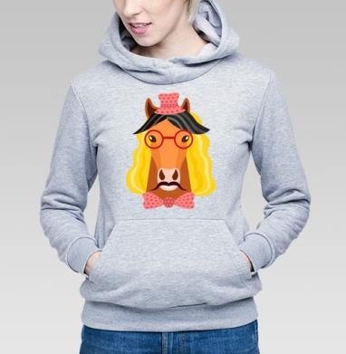 Веселый конь - Купить детские толстовки хипстерские в Москве, цена детских толстовок хипстерских  с прикольными принтами - магазин дизайнерской одежды MaryJane