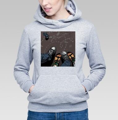 Влюбленные - Купить детские толстовки модные в Москве, цена детских толстовок модных  с прикольными принтами - магазин дизайнерской одежды MaryJane