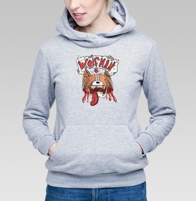 Wolfman - Купить детские толстовки с волками в Москве, цена детских толстовок с волками  с прикольными принтами - магазин дизайнерской одежды MaryJane