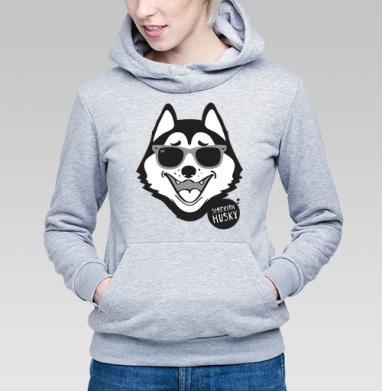 Хаски - Купить детские толстовки с собаками в Москве, цена детских  с собаками  с прикольными принтами - магазин дизайнерской одежды MaryJane