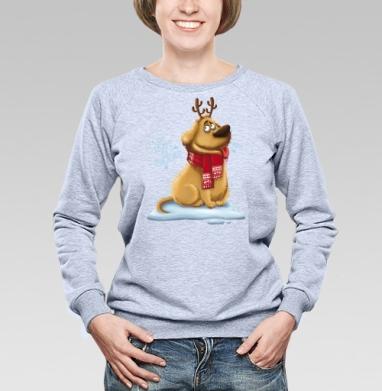 Будь готов к чудесам - Купить детские свитшоты с собаками в Москве, цена детских свитшотов с собаками  с прикольными принтами - магазин дизайнерской одежды MaryJane