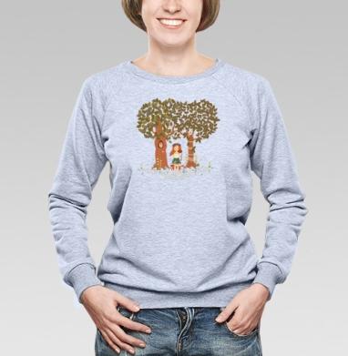 Фэйри - Купить женские свитшоты с природой в Москве, цена женских свитшотов с природой  с прикольными принтами - магазин дизайнерской одежды MaryJane