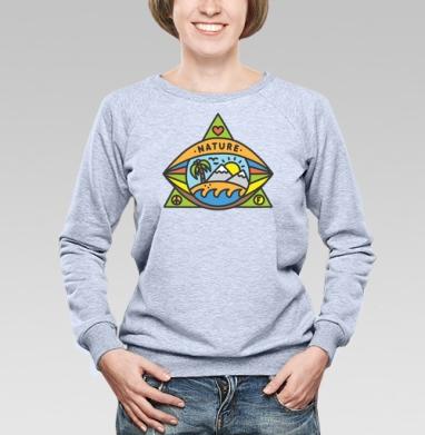 ПРИРОДА - Купить детские свитшоты хипстерские в Москве, цена детских свитшотов хипстерских  с прикольными принтами - магазин дизайнерской одежды MaryJane