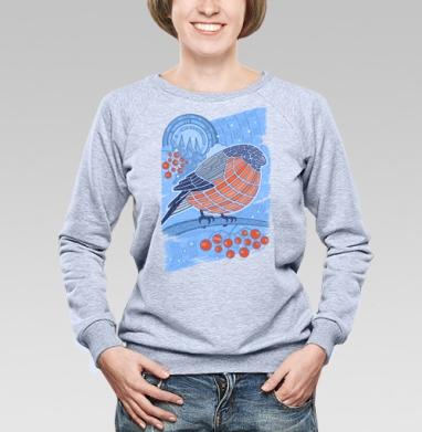 Снегирь - Купить детские свитшоты абстрактные в Москве, цена детских свитшотов абстрактных  с прикольными принтами - магазин дизайнерской одежды MaryJane