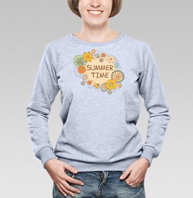 Время лета - Купить детские свитшоты красивые в Москве, цена детских свитшотов красивых  с прикольными принтами - магазин дизайнерской одежды MaryJane