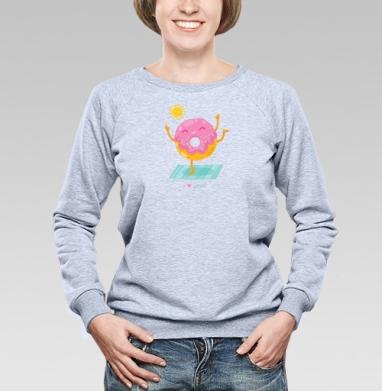 Йогопончик - Купить детские свитшоты спортивные в Москве, цена детских свитшотов спортивных  с прикольными принтами - магазин дизайнерской одежды MaryJane