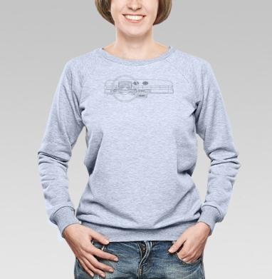 2101 - Купить детские свитшоты ретро в Москве, цена детских свитшотов ретро  с прикольными принтами - магазин дизайнерской одежды MaryJane