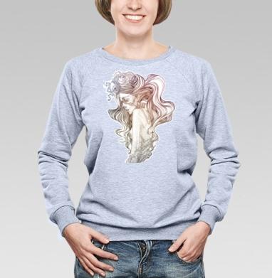A little pain - Купить женские свитшоты с роами в Москве, цена женских свитшотов с розой с прикольными принтами - магазин дизайнерской одежды MaryJane
