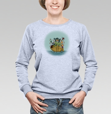 Дед Мазай - Купить женские свитшоты с приколами в Москве, цена женских свитшотов с приколами с прикольными принтами - магазин дизайнерской одежды MaryJane
