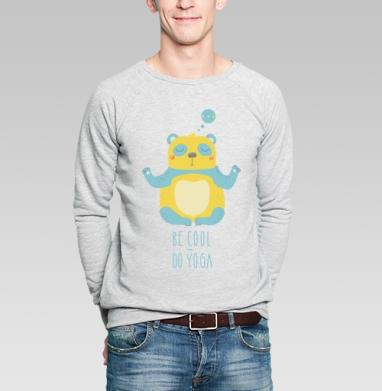 Делай йогу - Купить мужские свитшоты с йогой в Москве, цена мужских свитшотов с йогой  с прикольными принтами - магазин дизайнерской одежды MaryJane