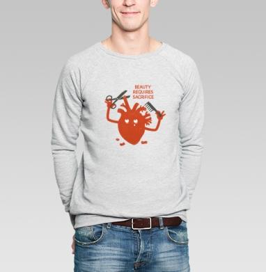 ЖЕРТВА МОДЫ - Купить мужские свитшоты модные в Москве, цена мужских свитшотов модных  с прикольными принтами - магазин дизайнерской одежды MaryJane