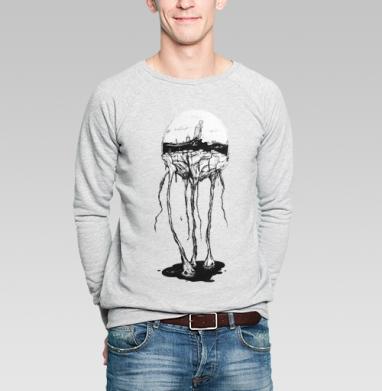 Город под куполом - Купить мужские свитшоты с городами в Москве, цена мужских  с городами  с прикольными принтами - магазин дизайнерской одежды MaryJane