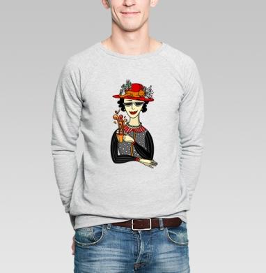 Горячий чай - Купить мужские свитшоты модные в Москве, цена мужских свитшотов модных  с прикольными принтами - магазин дизайнерской одежды MaryJane
