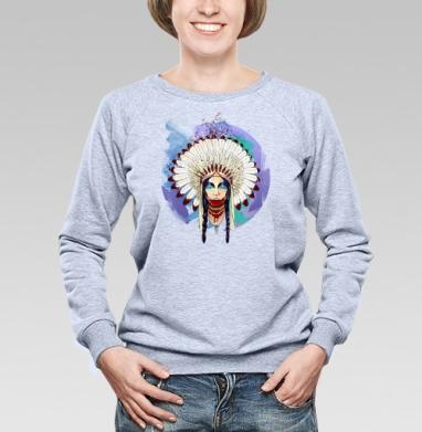 Greed - Купить детские свитшоты с индейцами в Москве, цена детских свитшотов с индейцами  с прикольными принтами - магазин дизайнерской одежды MaryJane