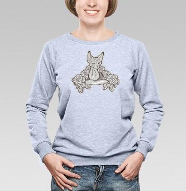 I'm watching you - Купить женские свитшоты с роами в Москве, цена женских свитшотов с розой с прикольными принтами - магазин дизайнерской одежды MaryJane