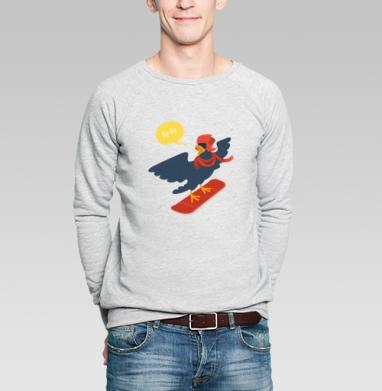 Кукушка поехала - Купить мужские свитшоты спортивные в Москве, цена мужских  спортивных  с прикольными принтами - магазин дизайнерской одежды MaryJane