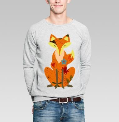 Лисичка-сестричка - Купить мужские свитшоты нежность в Москве, цена мужских свитшотов нежность  с прикольными принтами - магазин дизайнерской одежды MaryJane