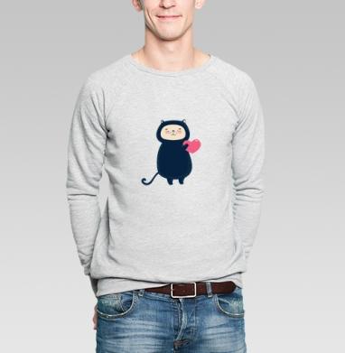 Ми ми ми - Купить мужские свитшоты романтика в Москве, цена мужских  романтических  с прикольными принтами - магазин дизайнерской одежды MaryJane