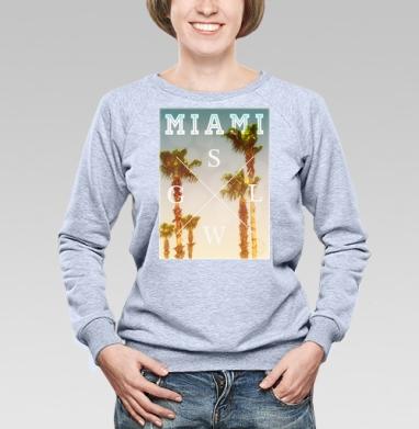 Miami - Купить детские свитшоты хипстерские в Москве, цена детских свитшотов хипстерских  с прикольными принтами - магазин дизайнерской одежды MaryJane