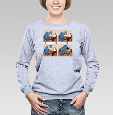 Монстры не любят проигрывать! - Купить детские свитшоты с мороженным в Москве, цена детских свитшотов с мороженным  с прикольными принтами - магазин дизайнерской одежды MaryJane