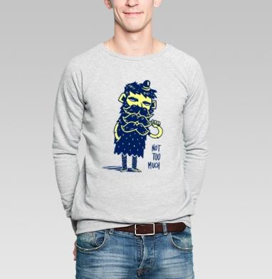 Насыщенность - Купить мужские свитшоты с усами в Москве, цена мужских свитшотов с усами  с прикольными принтами - магазин дизайнерской одежды MaryJane