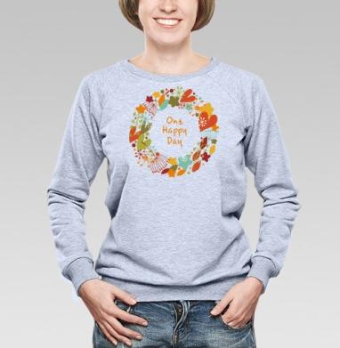One happy day - Купить детские свитшоты с любовью в Москве, цена детских свитшотов с любовью  с прикольными принтами - магазин дизайнерской одежды MaryJane