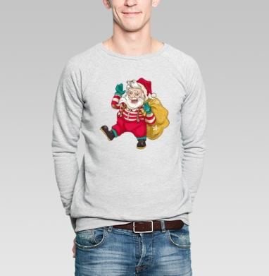Праздник к нам приходит - Купить мужские свитшоты ретро в Москве, цена мужских свитшотов ретро  с прикольными принтами - магазин дизайнерской одежды MaryJane