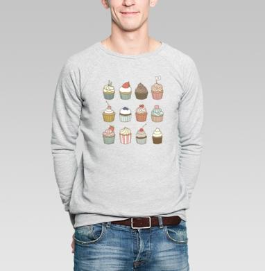 Растипопа - Купить мужские свитшоты сладости в Москве, цена мужских свитшотов со сладостями  с прикольными принтами - магазин дизайнерской одежды MaryJane