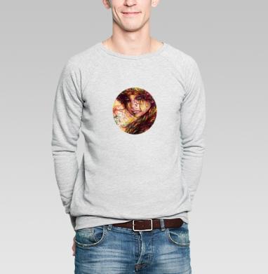 Русская коса - Купить мужские свитшоты красивые в Москве, цена мужских свитшотов красивых  с прикольными принтами - магазин дизайнерской одежды MaryJane