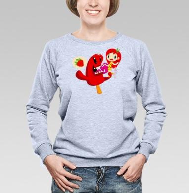 Some like it hot | Некоторые любят погорячее  - Купить детские свитшоты с мороженным в Москве, цена детских свитшотов с мороженным  с прикольными принтами - магазин дизайнерской одежды MaryJane