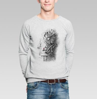 Стимпанк гаджет - Купить мужские свитшоты с роботами в Москве, цена мужских  с роботами  с прикольными принтами - магазин дизайнерской одежды MaryJane