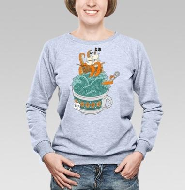 Tea - Купить детские свитшоты с пиратом в Москве, цена детских свитшотов пиратских с прикольными принтами - магазин дизайнерской одежды MaryJane