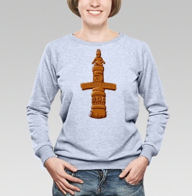 Тотем  - Купить детские свитшоты с индейцами в Москве, цена детских свитшотов с индейцами  с прикольными принтами - магазин дизайнерской одежды MaryJane