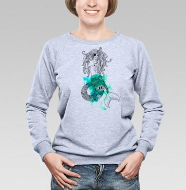 Тру русалка - Купить детские свитшоты с пиратом в Москве, цена детских свитшотов пиратских с прикольными принтами - магазин дизайнерской одежды MaryJane