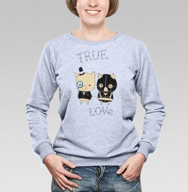 true love - Купить детские свитшоты парные в Москве, цена детских свитшотов парных  с прикольными принтами - магазин дизайнерской одежды MaryJane