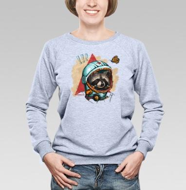 Весенний енот - Купить детские свитшоты с роботами в Москве, цена детских свитшотов с роботами с прикольными принтами - магазин дизайнерской одежды MaryJane
