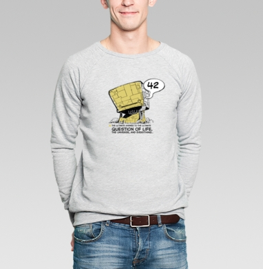 42 - Купить мужские свитшоты с роботами в Москве, цена мужских свитшотов с роботами с прикольными принтами - магазин дизайнерской одежды MaryJane