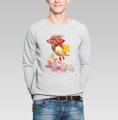 отпуск !!!! - Купить мужские свитшоты с велосипедом в Москве, цена мужских свитшотов с велосипедом с прикольными принтами - магазин дизайнерской одежды MaryJane