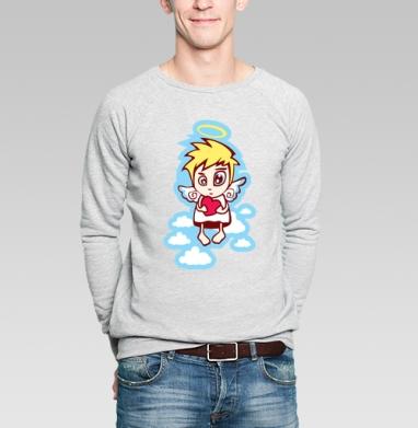 Анджела Олеговна - Купить мужские свитшоты с людьми в Москве, цена мужских свитшотов с людьми  с прикольными принтами - магазин дизайнерской одежды MaryJane