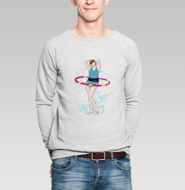 Athletic girl - Купить мужские свитшоты спортивные в Москве, цена мужских  спортивных  с прикольными принтами - магазин дизайнерской одежды MaryJane