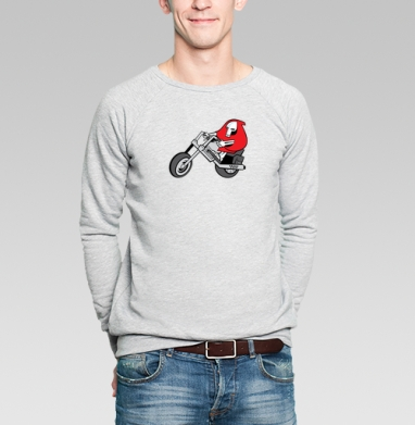 BIKEdeath - Купить мужские свитшоты с мотоциклами в Москве, цена мужских свитшотов с мотоциклами  с прикольными принтами - магазин дизайнерской одежды MaryJane