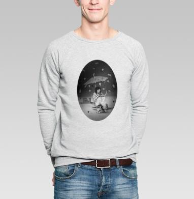 Чаепитие на луне - Купить мужские свитшоты с мороженным в Москве, цена мужских  с мороженным  с прикольными принтами - магазин дизайнерской одежды MaryJane