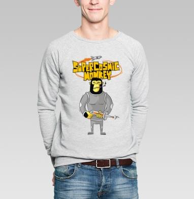 Cosmicmonky - Купить мужские свитшоты с космосом в Москве, цена мужских свитшотов с космосом  с прикольными принтами - магазин дизайнерской одежды MaryJane