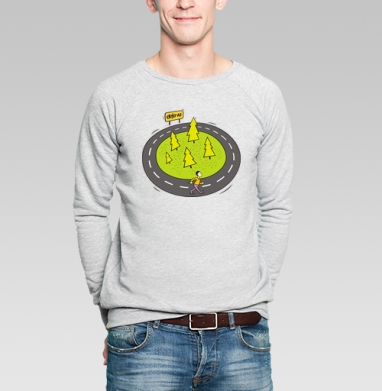 Deja vu  - Купить мужские свитшоты спортивные в Москве, цена мужских  спортивных  с прикольными принтами - магазин дизайнерской одежды MaryJane
