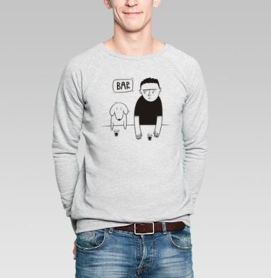 Dog  - Купить мужские свитшоты нежность в Москве, цена мужских  нежность  с прикольными принтами - магазин дизайнерской одежды MaryJane