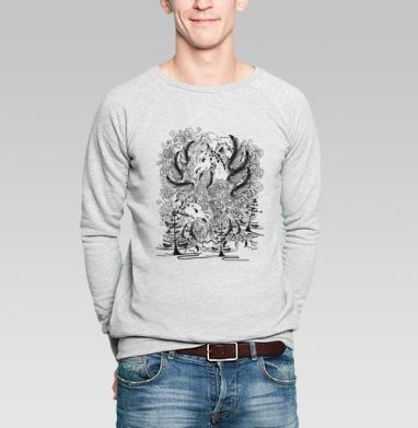 Дракон - Купить мужские свитшоты со сказками в Москве, цена мужских  со сказками  с прикольными принтами - магазин дизайнерской одежды MaryJane