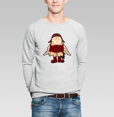 Flying Dutchman 2 - Купить мужские свитшоты с крыльями в Москве, цена мужских свитшотов с крыльями с прикольными принтами - магазин дизайнерской одежды MaryJane