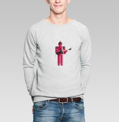 Футболки эквалайзер mp3-robot - Купить мужские свитшоты с роботами в Москве, цена мужских свитшотов с роботами с прикольными принтами - магазин дизайнерской одежды MaryJane