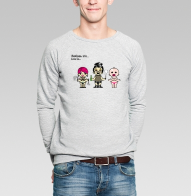 Футболки Love is...№4 парные - Купить мужские свитшоты секс в Москве, цена мужских свитшотов секс  с прикольными принтами - магазин дизайнерской одежды MaryJane